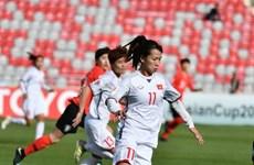 Selección femenina de fútbol de Vietnam parte de Jordania tras derrota ante Sudcorea