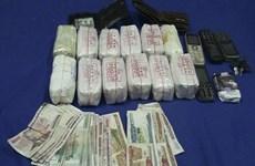 Decomisan 24 mil cápsulas de drogas sintéticas en transporte de Laos a Vietnam
