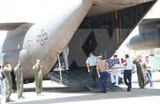 Efectúan en Da Nang repatriación de cuerpos de estadounidenses caídos durante guerra en Vietnam