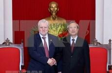 Partido Comunista de Vietnam y su similar de Rusia Justa fortalecen nexos