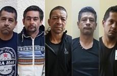 Condenados a prisión cinco delincuentes de nacionalidad colombiana
