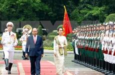 Consejera de Estado de Myanmar concluye visita a Vietnam
