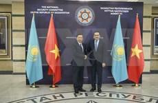Vietnam y Kazajistán promueven cooperación en seguridad