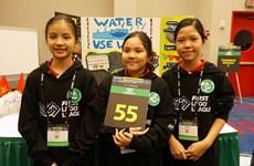 Estudiantes vietnamitas ganan premios en Primera Liga de Lego