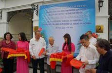 Presentan en Hanoi pinturas y libro de Héroe Cubano Antonio Guerrero