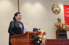 Parlamentos de Vietnam y Laos intercambian experiencias en votación de confianza