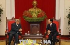 Francia y Vietnam fortalecen lazos partidistas