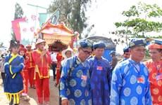 Nutrida participación en festival dedicado al dios de peces en provincia vietnamita de Ben Tre