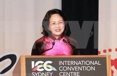 Vicepresidenta vietnamita: Mujeres deben desempeña la vanguardia en impulso de conectividad económica