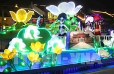 Desfile de carros alegóricos marca inicio del Carnaval de Ha Long