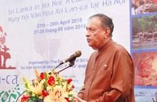 Presidente del Parlamento de Sri Lanka concluye visita a Vietnam