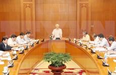 Partido Comunista de Vietnam revisa avance en lucha contra la corrupción