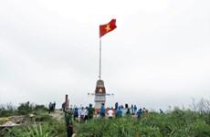 Inauguran mástil de bandera en isla vietnamita de Hon La