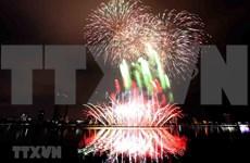 Ciudad vietnamita de Da Nang brilla con espectáculos pirotécnicos