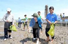 Plantan miles de árboles en extremo sur de Vietnam para enfrentar cambio climático