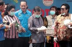 Indonesia destruye más de dos toneladas de metanfetamina de cristal