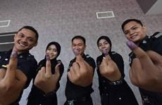 Comienza el voto anticipado para las elecciones generales en Malasia