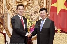 Fumio Kishida: desarrollo de Vietnam es importante para Japón y la conectividad regional