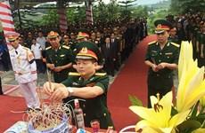 Recuerdan a combatientes vietnamitas caídos en Laos