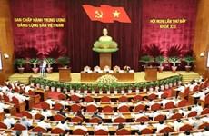 Comité Central del Partido Comunista de Vietnam revisa labores de dirección del Buró Político