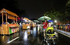 Abren en Hanoi segunda ruta peatonal los fines de semana