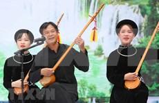 Diversas actividades artísticas durante sexto Festival de Canto Then en Ha Giang