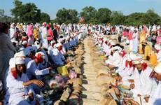 Pobladores de Cham Bani celebran festival Ramuwan