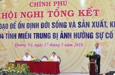 Solución de incidente ambiental de Formosa es lección para localidades, afirma premier vietnamita