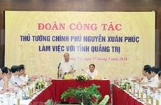 Premier de Vietnam insta a Quang Tri a impulsar reducción de pobreza