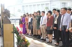 Celebran natalicio del Presidente Ho Chi Minh en diferentes ciudades del mundo