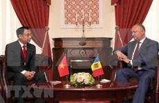 Moldavia busca impulsar la cooperación multisectorial con Vietnam