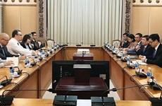 Autoridades de Ciudad Ho Chi Minh exhortan a impulsar cooperación con Finlandia