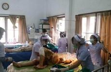 Al menos 12 vietnamitas resultan heridos en un accidente de tránsito en Laos