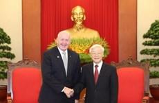 Máximo líder político de Vietnam respalda rol de Australia en Asia- Pacífico