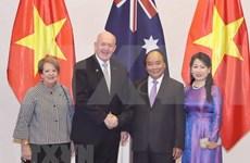 Premier vietnamita recibe a gobernador general de Australia
