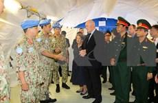 Gobernador General visita hospital de campaña de Vietnam