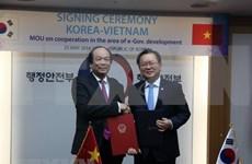 Vietnam y Sudcorea cooperan en construcción del gobierno electrónico