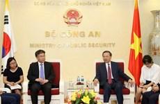 Vietnam y Sudcorea fortalecen cooperación contra delincuencia