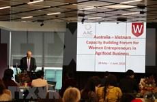 Australia y Vietnam analizan medidas para mejorar habilidades de las mujeres empresarias