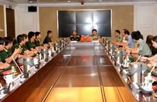 Celebran programa de intercambio militar entre Vietnam y China