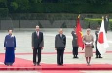 Presidente de Vietnam se reúne con Emperador de Japón