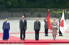 Prensa japonesa destaca visita del presidente vietnamita Tran Dai Quang