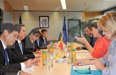 Vietnam prioriza cooperación económica con UE y Bélgica