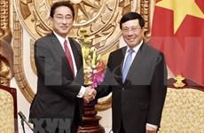 Vicepremier y canciller de Vietnam destaca apoyo de Japón