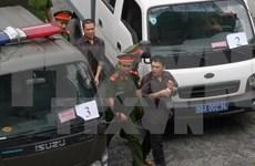 Inician juicio de apelación contra grupo terrorista en Vietnam