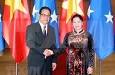 Robustecen Vietnam y Micronesia nexos bilaterales