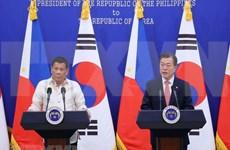 Presidentes de Corea del Sur y Filipinas acuerdan intensificar cooperación bilateral