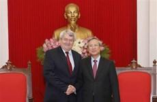 Fomentan nexos partidistas entre Vietnam y República Checa