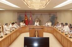 Órgano de Vietnam debate sobre desarrollo sostenible y elevación de la competitividad