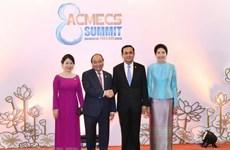 Vietnam y Tailandia estrechan lazos al margen de ACMECS 8